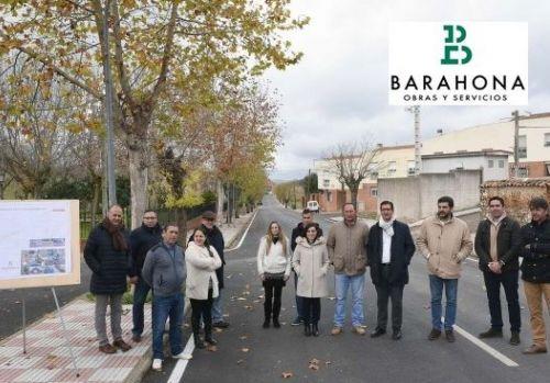 Travesia Almadenejos CR-414 - Barahona obras y Servicios ciudad Real